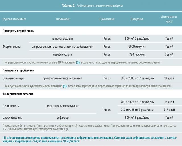 Острый пиелонефрит: 5 предраспалагающих к развитию факторов и 7 принципов лечения