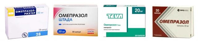 Омепразол: 5 показаний для применения, противопоказания, побочные реакции