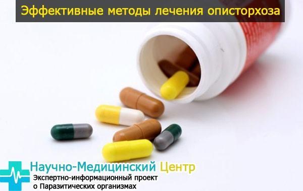 Описторхоз: 3 этапа эффективного и современного лечения